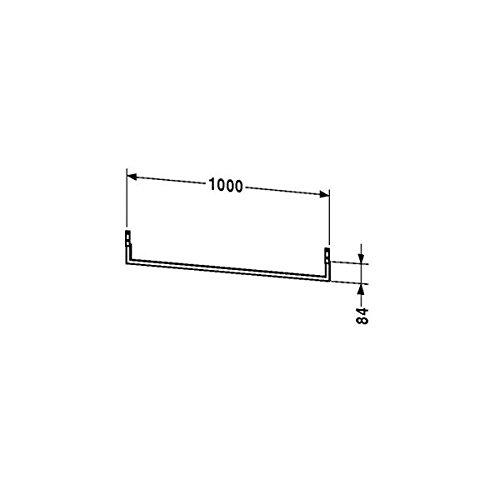 Duravit Handtuchhalter Fogo 1000x84mm unter Konsole, chrom, FO998400000