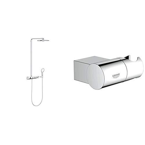 Grohe Rainshower SmartControl 360 DUOSistema de ducha con termostato incorporado (Ref. 26250000) + RainshowerSoporte para ducha mural Rainshower (Ref. 27055000)