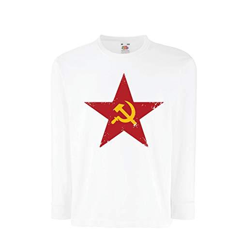 lepni.me Camiseta para Niño/Niña URSS СССР La Hoz y el Martillo, símbolo del proletariado socialista