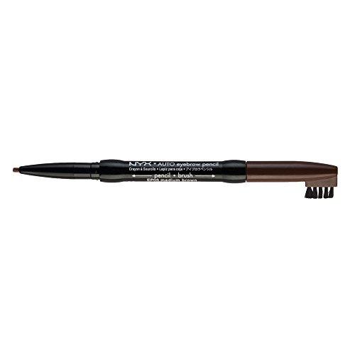 NYX Auto Eyebrow Pencil, Medium Brown