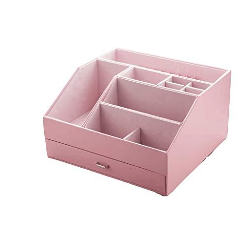 pojhf GYDSSH Cajón de Maquillaje cosmético del Organizador de Belleza de uñas Caja de Almacenamiento de Escritorio Caja de lápiz Labial Cepillo de uñas de envase de Esmalte de artículos de baño