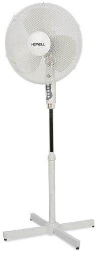 HOWELL VEP401MQ Ventilatore a Piantana, 45 Watt, Bianco/Grigio, 40x130 cm, W