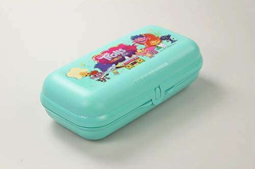 Tupperware Maxi Caja Cofre Sandwichera Turquesa Claro Trolls 36624