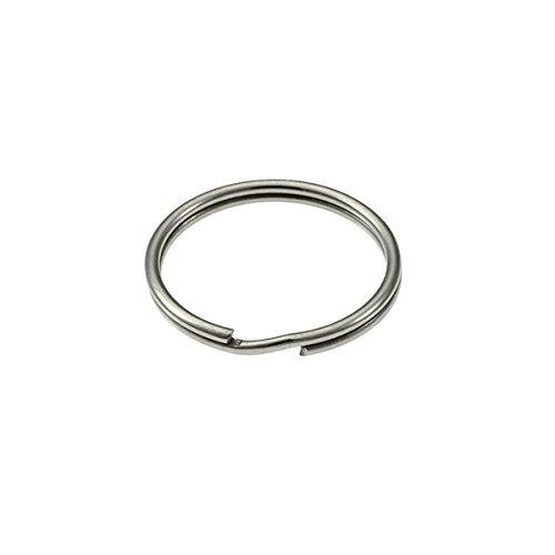 Merriway BH02294 38mm (1.1/2 inch) Spring Steel Key Ring -...
