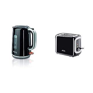 AEG-EWA-3700-Expresswasserkocher-Super-schnelles-Aufkochen-3000-Watt-17-l-entnehmbarer-Kalkfilter-Wasserstandsanzeige-mit-Liter-Tassenangabe-Sicherheitsabschaltung-EinAus-Schalter-schwarz