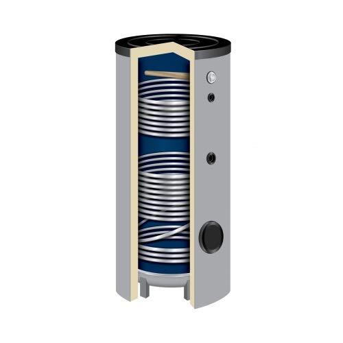 200 Liter Solarspeicher Warmwasserspeicher SO-200 Liter 2 Wärmetauscher Brauchwasserspeicher