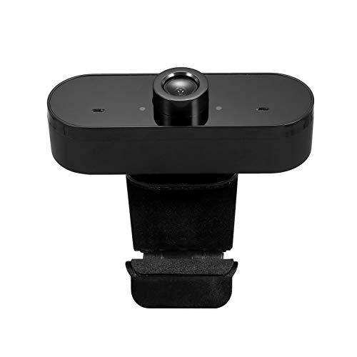 Honorall Full HD 1080 P Webcam USB Mini Câmera de Computador Microfone Embutido, Rotativo Flexível, para Laptops, Desktop e Jogos