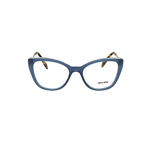 Miu Miu Damen 0MU 02QV Sonnenbrille, Azul, 51