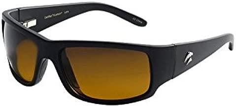 Eagle Eyes Wrap Around Sunglasses - Cozmoz Sports Sunglasses in Black Frame / Gradient Polarized Lens