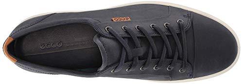 ECCO Men's Soft 7 Tie Low-Top Sneakers, Blue (Marine 2038), 14.5 UK