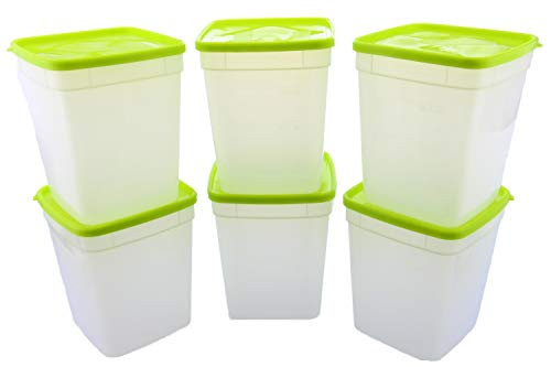 Arrow Reusable Plastic Storage Container Set, 10 Pack, 1 Pint/16 Ounce Each – Food, Meal Prep,...