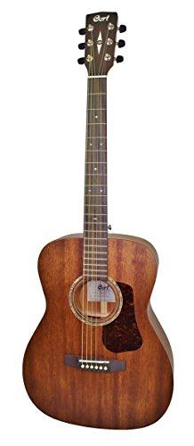 Cort Luce L450C Gitarre aus Naturholz, seidig glänzend