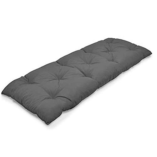 Rectangle Tufted Bench Cushion,Indoor Outdoor Not-slip Settee Cushion,Waterproof Soft Omega Swing Bench Cushion,Soft Long Chair Pads For Patio Garden