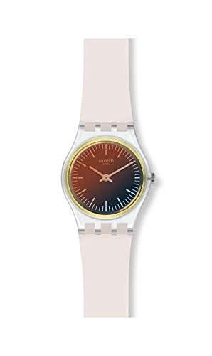 Swatch Orologio Analogico Quarzo Donna con Cinturino in Silicone LK391