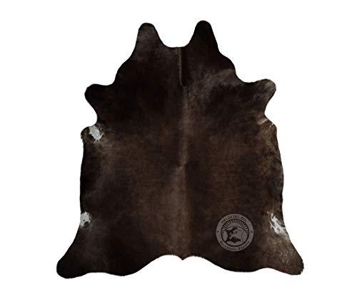 Alfombra de Piel de Vaca Chocolate 220 x 200 cm - Pieles del Sol