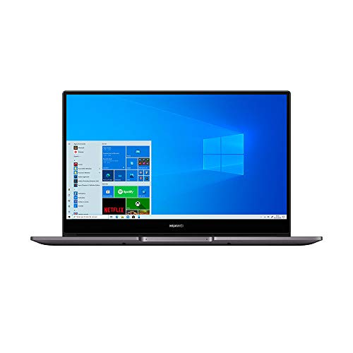 HUAWEI MateBook D 14 Laptop, Full View 1080P FHD Ultrabook, Intel Core i5-10210U, RAM 16GB, SSD da 512GB, Windows 10 Home, Layout Italiano, Gray