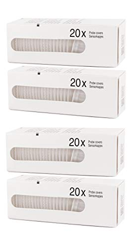 80 x Probe Covers/Refill Caps/Lens Filters for All Braun ThermoScan/Thermometer Models