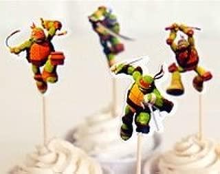 Amazon.com: Teenage Mutant Ninja Turtles Cupcake Toppers ...