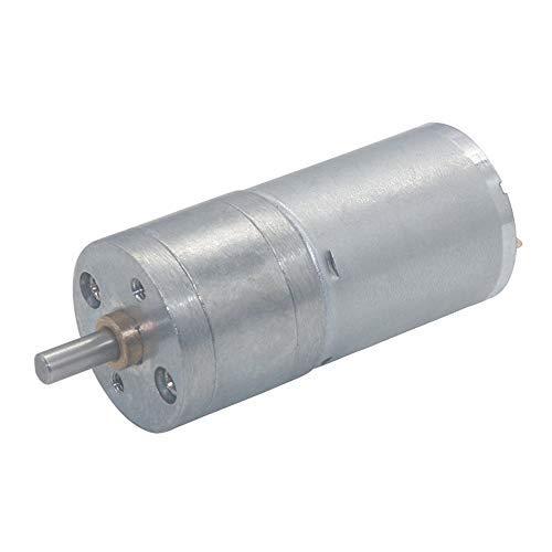 Zentrische Ausgangswelle für Motor mit Getriebe, Drehzahlreduktion, Mikroelektrisch, hohes Drehmoment, DC 24 V, 17 U/min.