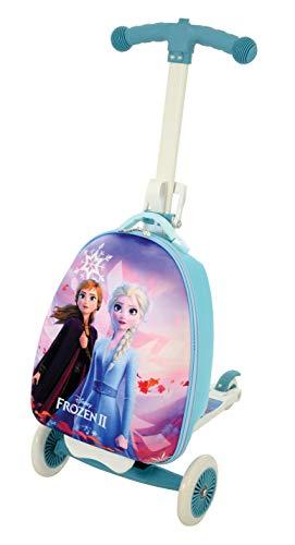 Frozen 2 M004210 3 en 1 Scootin Maleta Frozen, Multi