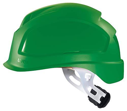 Uvex Pheos E-S-WR Unbelüfteter Schutzhelm für Elektriker - Grün