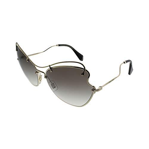 Miu Miu Damen 0Mu56Rs Zvn0A7 61 Sonnenbrille, Gold (Pale Gold/Greygradient)