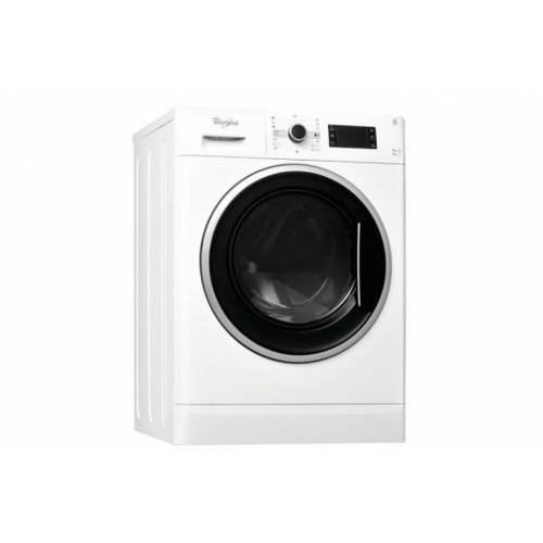 Whirlpool WWDC 9716 freestanding Front-load A Black,White - washer dryers (Front-load, Freestanding, Black, White, Left, Rotary, Stainless steel)