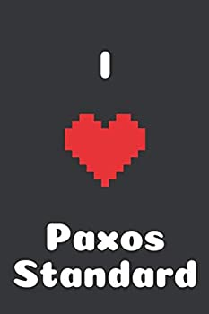 I Love Paxos Standard  Bitcoin Notebook Crypto Journal Cyrptocurrency Gift Idea for Any Occasion Journal for Bitcoin miners traders and lovers of Cryptocurrency 100 Lined Pages 6x9  I Love Crypto