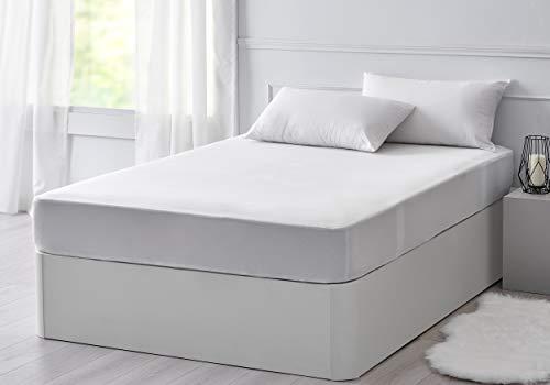 Pikolin Home - Protector de colchón de Tencel impermeable hípertranspirable que gracias a su tejido absorbe un 50% más que el algodón