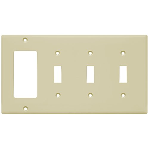 Ivory Decorator Wall Plate - 9