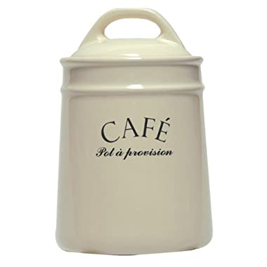 French-inspired  Café  Coffee Jar Canister
