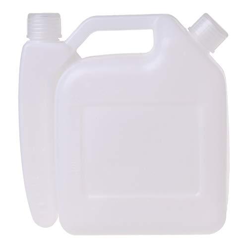 Meipai 1,5 Liter 2-Takt Benzin Öl Mischflasche Tank für Trimmer Kettensägen Werkzeuge Teile 1:25