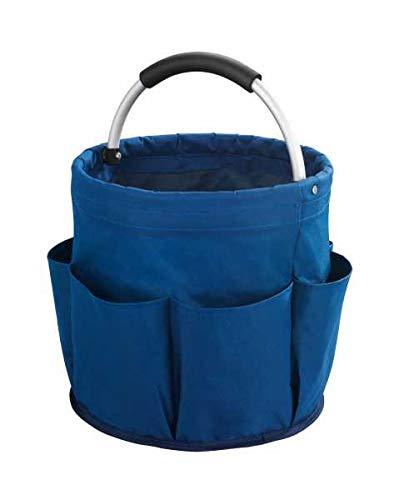 Wenko Aufbewahrungsbox für Putzutensilien, Blau, 4 cm