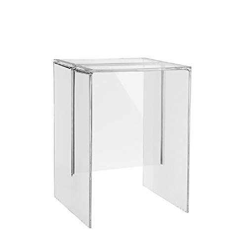 Kartell MAX-Beam Mesita, Transparente (Crystal), 33x47x34 cm
