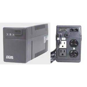 Powercom BNT-800AP, 3UPS+1Surge 800VA