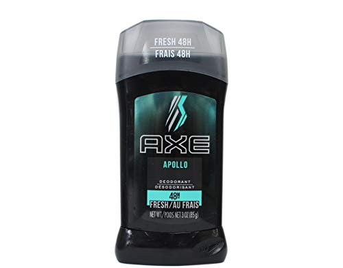 Axe Fresh Deodorant Stick, Apollo 3 oz (Pack of 3)