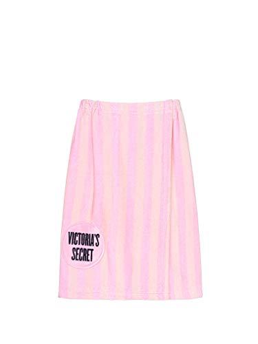 Victoria's Secret Cozy Toalla envolvente con rayas insignia