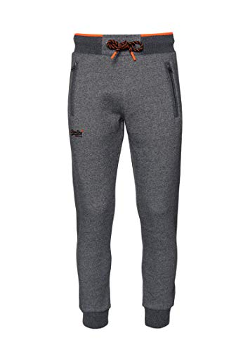 Superdry Corsa Hyper Pop grijs heren Twill joggingbroek - - X-Small