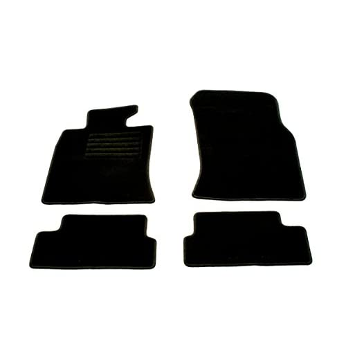 Fußmatten New Mini R56 2006-2014 Velours Matten Autoteppiche Passform Set