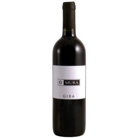 6 x 0.75 l - Giba rosso, Carignano del Sulcis DOC, prodotto dalla Cantina 6Mura di Giba