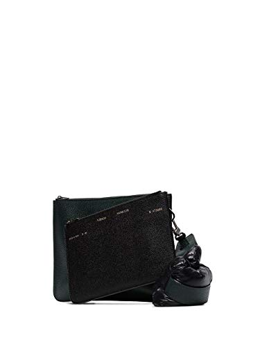 Moncler Luxury Fashion Damen 006280002S68890 Schwarz Leder Pouch | Frühling Sommer 20