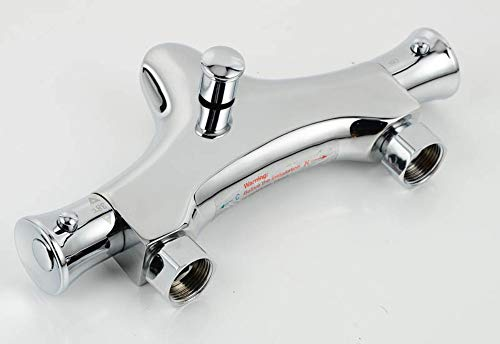 Waschtisch Armatur Hochwertige Thermostatarmatur Wasserhahn Duschkopf Automatische Temperatureinstellung