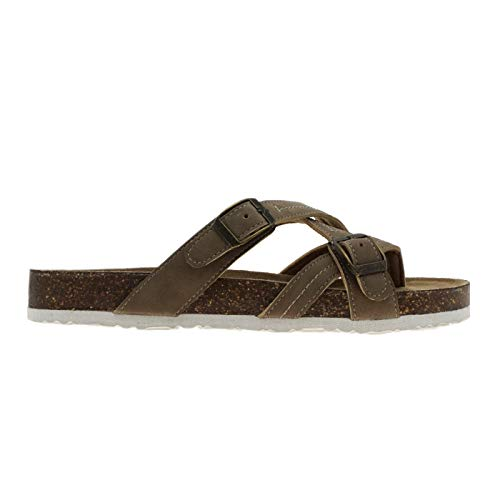 OUTWOODS BORK-71 Women's Sandal (7, Taupe)