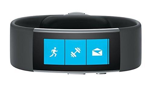 Microsoft Band 2–Aktivitäts-Monitor (Bluetooth 4.0, AMOLED, Li-Po), Schwarz (Import)