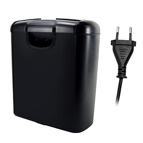 NC Trituradora de papel de corte cruzado de 6 hojas, trituradora de papel A4 silenciosa, portátil, microcortada, automática, para uso doméstico, oficina,