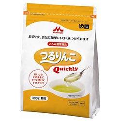 森永乳業 つるりんこ Quickly 300g×12袋入×(2ケース)