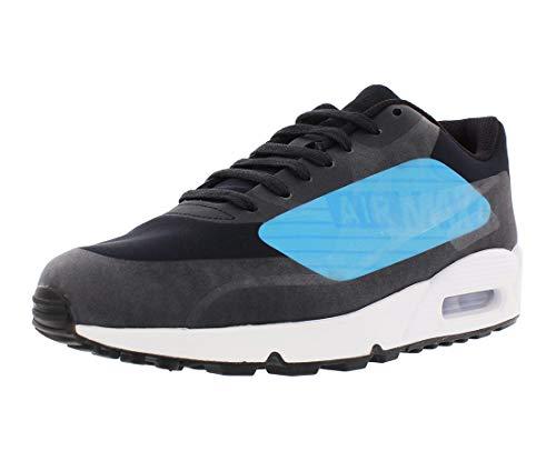 Nike Air MAX 90 NS GPX Hombres Running AJ7182 Sneakers Turnschuhe (UK 8 US 9 EU 42.5, Black Laser Blue 002)