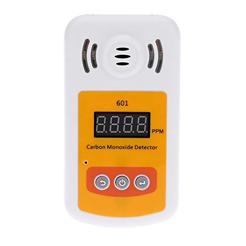 no-branded Tragbare Gaslecksucher for Kohlenmonoxid (CO) Gas Mini CO Gas Analyzer Gaszähler mit Ton und Licht Alarm XXYHYQHJD