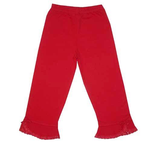 Lana Natural Wear - Pantalon - Bébé Fille - Rouge (Tomate) - FR: 3 Mois (Taille Fabricant: 62/68)