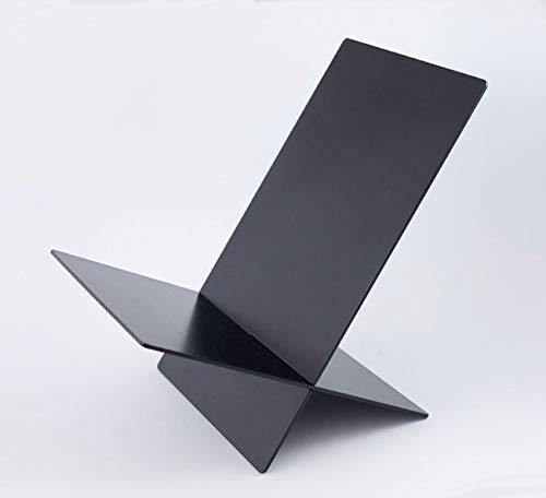 Beamalevich Everything Stand - Sehr widerstandsfähiges Metallpodest für Bücher und Gegenstände Zweiteilige senkrechte Spitze - Schwarzer Pantone 419